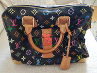 Hyväkuntoinen Louis Vuitton Speedy 30 multicolor