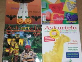 Askartelulehdet, 4kpl, Lehdet, Kirjat ja lehdet, Loppi, Tori.fi