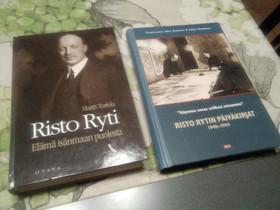Risto Ryti x 2, Muut kirjat ja lehdet, Kirjat ja lehdet, Salo, Tori.fi