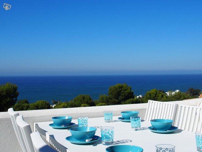Costa Del Sol 3h+k panoraama merinäköalalla