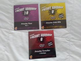 Kolme ruotsalaista karaoke-dvd:tä, Imatra/posti, Musiikki CD, DVD ja äänitteet, Musiikki ja soittimet, Imatra, Tori.fi