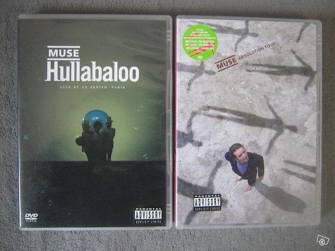 Muse kaksi musiikki-dvd:tä, Imatra/posti