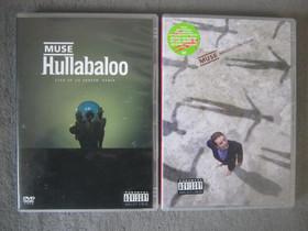 Muse kaksi musiikki-dvd:tä, Imatra/posti, Musiikki CD, DVD ja äänitteet, Musiikki ja soittimet, Imatra, Tori.fi