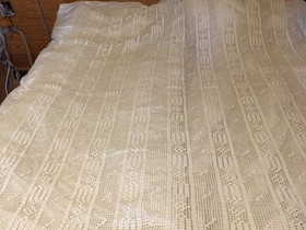 Pitsipäiväpeitto esim. 140 cm lev sänkyyn, Matot ja tekstiilit, Sisustus ja huonekalut, Heinola, Tori.fi