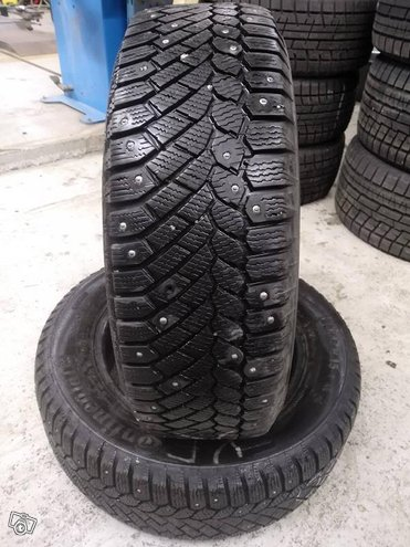 195/65R15 Conti Ice Contact 6-7mm 2kpl
