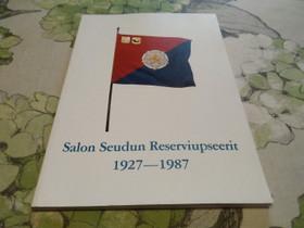 Salon Seudun Reserviupseerit 1927-1987, Muut kirjat ja lehdet, Kirjat ja lehdet, Salo, Tori.fi