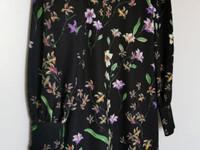 HM kukkakuvioinen tunikamekko, koko 34
