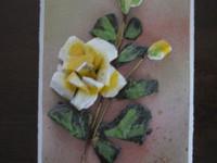 Kiva kukka taulu