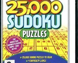 Sudoku 25 000 Palapeliä PC Uusi Pkt 2,5e/Nouto, Pelikonsolit ja pelaaminen, Viihde-elektroniikka, Tampere, Tori.fi