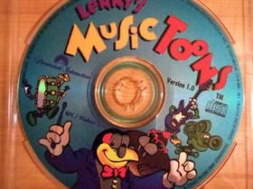 Lenny's Music Toons lasten PC-musiikkimultimedia, Tietokoneohjelmat, Tietokoneet ja lisälaitteet, Huittinen, Tori.fi