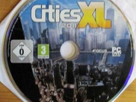 Cities XL kaupunkisimulaattori PC-peli, Pelikonsolit ja pelaaminen, Viihde-elektroniikka, Kangasala, Tori.fi