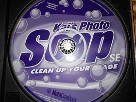 Kai's Photo Soap PC-kuvankäsittelyohjelma, Tietokoneohjelmat, Tietokoneet ja lisälaitteet, Huittinen, Tori.fi