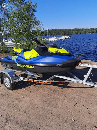 Sea-doo wake 170hp Kuokkalan satama/ traileri