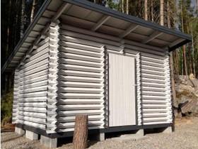 Puuliiteri parruhirrestä 3 x 4 m, pulpettikatto, Autotallit ja varastot, Rovaniemi, Tori.fi