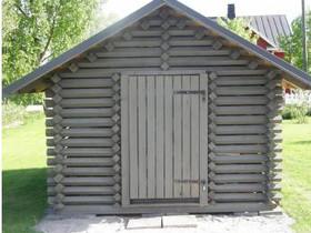 Puuliiteri/piharakennus parruhirrestä 3 x 3,6 m, Autotallit ja varastot, Vaasa, Tori.fi