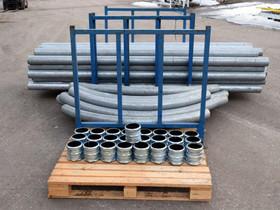Sinkitty asennusputki 300x11cm 40 kpl, video, Muu rakentaminen ja remontointi, Rakennustarvikkeet ja työkalut, Luumäki, Tori.fi