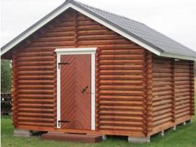 Puuliiteri/piharakennus parruhirrestä 4 x 5 m, Autotallit ja varastot, Seinäjoki, Tori.fi