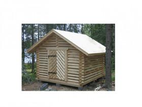Puuliiteri/piharakennus parruhirrestä 3 x 3 m, Autotallit ja varastot, Hämeenlinna, Tori.fi