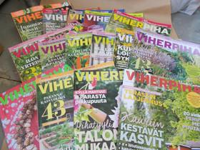 Viherpiha lehtiä 14 kpl, Lehdet, Kirjat ja lehdet, Vaasa, Tori.fi