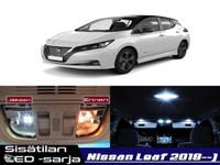 Nissan Leaf (ZE1) Sisätilan LED -sarja ;x9