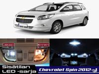 Chevrolet Spin Sisätilan LED -sarja ;6 -osainen