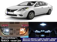 Nissan Versa/Almera (N17) Sisätilan LED-sarja ;x6