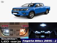 Toyota Hilux (MK8) Sisätilan LED -sarja ;x5