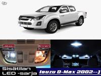 Isuzu D-MAX Sisätilan LED -sarja ;7 -osainen