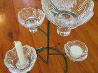 Riihimäen lasi kynttelikkö