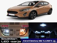 Ford Fiesta (MK7) Sisätilan LED -sarja ;x9