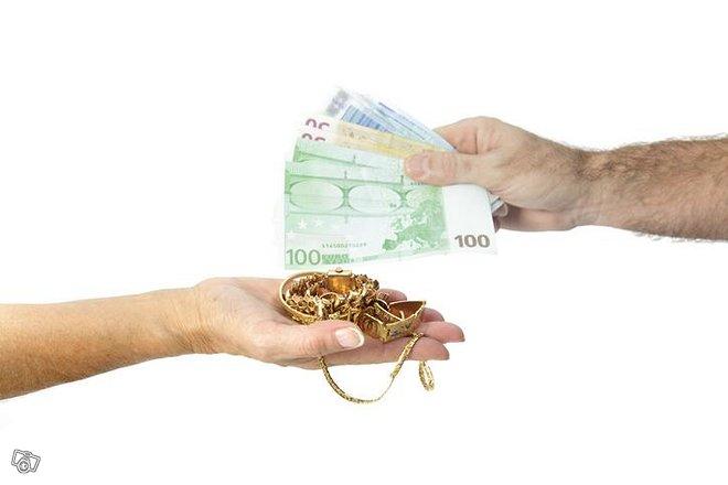 Kultakoruja- ja hopeakoruja rahaksi