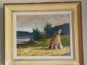 K. Vuoren taulu, Taulut, Sisustus ja huonekalut, Juva, Tori.fi