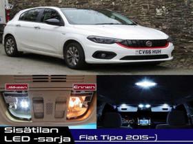 Fiat Tipo (356) Sisätilan LED -sarja ;9 -osainen, Lisävarusteet ja autotarvikkeet, Auton varaosat ja tarvikkeet, Tuusula, Tori.fi