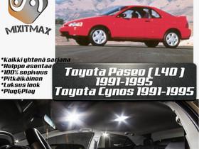 Toyota Paseo (L40) Sisätilan LED -muutossarja ; x5, Lisävarusteet ja autotarvikkeet, Auton varaosat ja tarvikkeet, Tuusula, Tori.fi