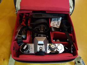 Fujica AX-1, Tamron 28-135mm, salama ym, Kamerat, Kamerat ja valokuvaus, Kirkkonummi, Tori.fi