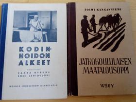 Oppikirjoja ja lehtiä 1930-70-luvuilta, Muut kirjat ja lehdet, Kirjat ja lehdet, Hämeenlinna, Tori.fi