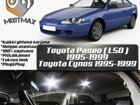 Toyota Paseo (L50) Sisätilan LED -muutossarja ; x5, Lisävarusteet ja autotarvikkeet, Auton varaosat ja tarvikkeet, Tuusula, Tori.fi