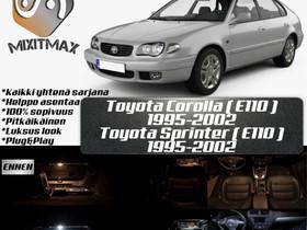 Toyota Corolla (E110) Sisätilan LED -sarja ;5 osaa, Lisävarusteet ja autotarvikkeet, Auton varaosat ja tarvikkeet, Tuusula, Tori.fi