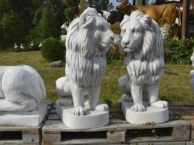 Patsaat: 2 kpl Leijonat, betonia 255 kg/kpl, Ruukut, kivet ja koristeet, Piha ja puutarha, Salo, Tori.fi