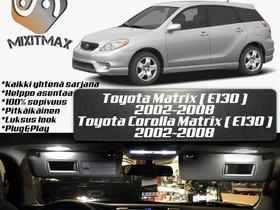 Toyota Matrix (E130) Sisätilan LED -sarja ; 6 osaa, Lisävarusteet ja autotarvikkeet, Auton varaosat ja tarvikkeet, Tuusula, Tori.fi