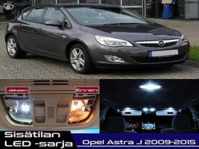 Opel Astra J Sisätilan LED -sarja ;11 -osainen, Lisävarusteet ja autotarvikkeet, Auton varaosat ja tarvikkeet, Tuusula, Tori.fi