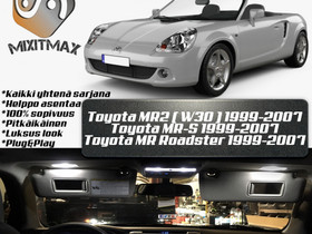 Toyota MR2 (W30) Sisätilan LED -muutossarja ; x5, Autovaraosat, Auton varaosat ja tarvikkeet, Tuusula, Tori.fi