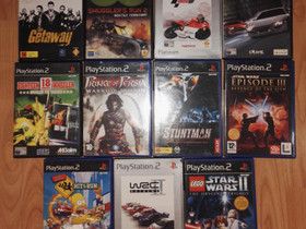 PS2 pelejä, Pelikonsolit ja pelaaminen, Viihde-elektroniikka, Helsinki, Tori.fi