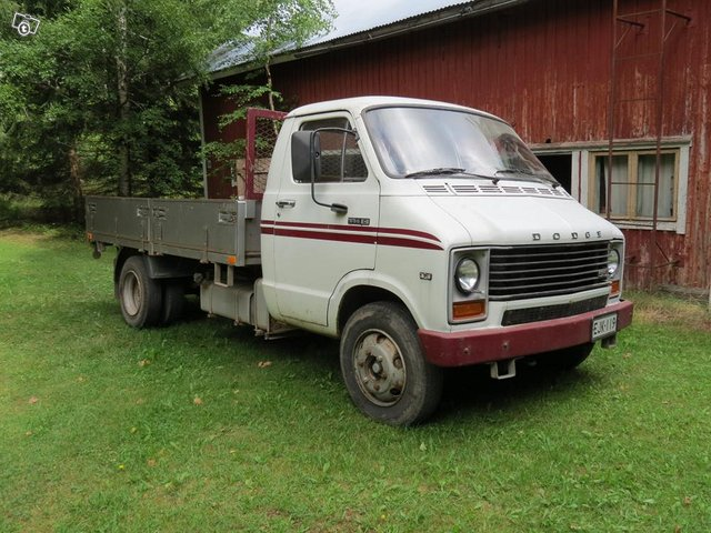 Dodge 50 avolavapakettiauto 1
