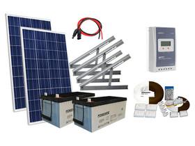 Solar 260W mökkijärjestelmä edullisesti, Sähkötarvikkeet, Rakennustarvikkeet ja työkalut, Vantaa, Tori.fi