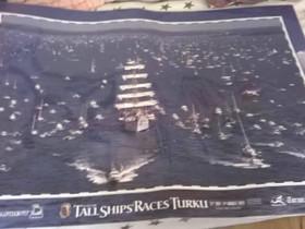 Tall Ships Races Turku juliste, Taulut, Sisustus ja huonekalut, Jyväskylä, Tori.fi