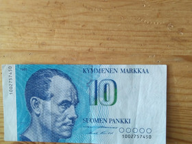 10 markan seteli, Rahat ja mitalit, Keräily, Urjala, Tori.fi