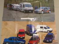 Peugeot juliste 2 kpl