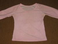 Vaaleanpunainen sametti paita XXS koko