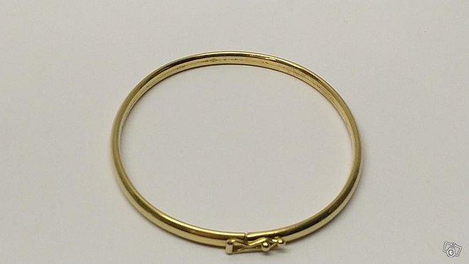 14 karaatin kultainen rannerengas, Oll 585